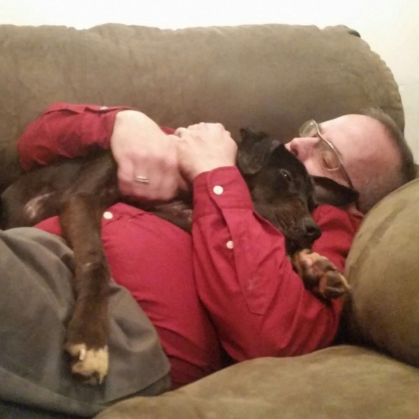Как два байкера спасли собаку из заключения...невероятная история! животные, собака, спасение