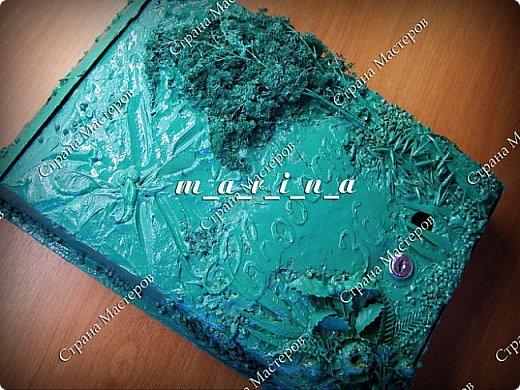 Декор предметов Мастер-класс Ассамбляж Почтовый ящик в технике Терра МК Гипс Краска Материал природный фото 24