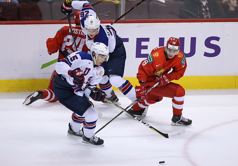 Сборная России проиграла команде США в полуфинале МЧМ-2019