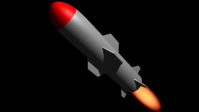 Падение ракеты на жилой дом …