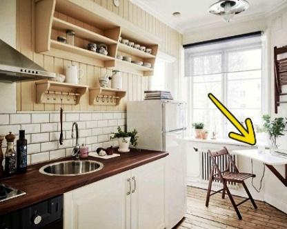 7 способов обустроить маленькую кухню так, чтобы забыть о ее размере