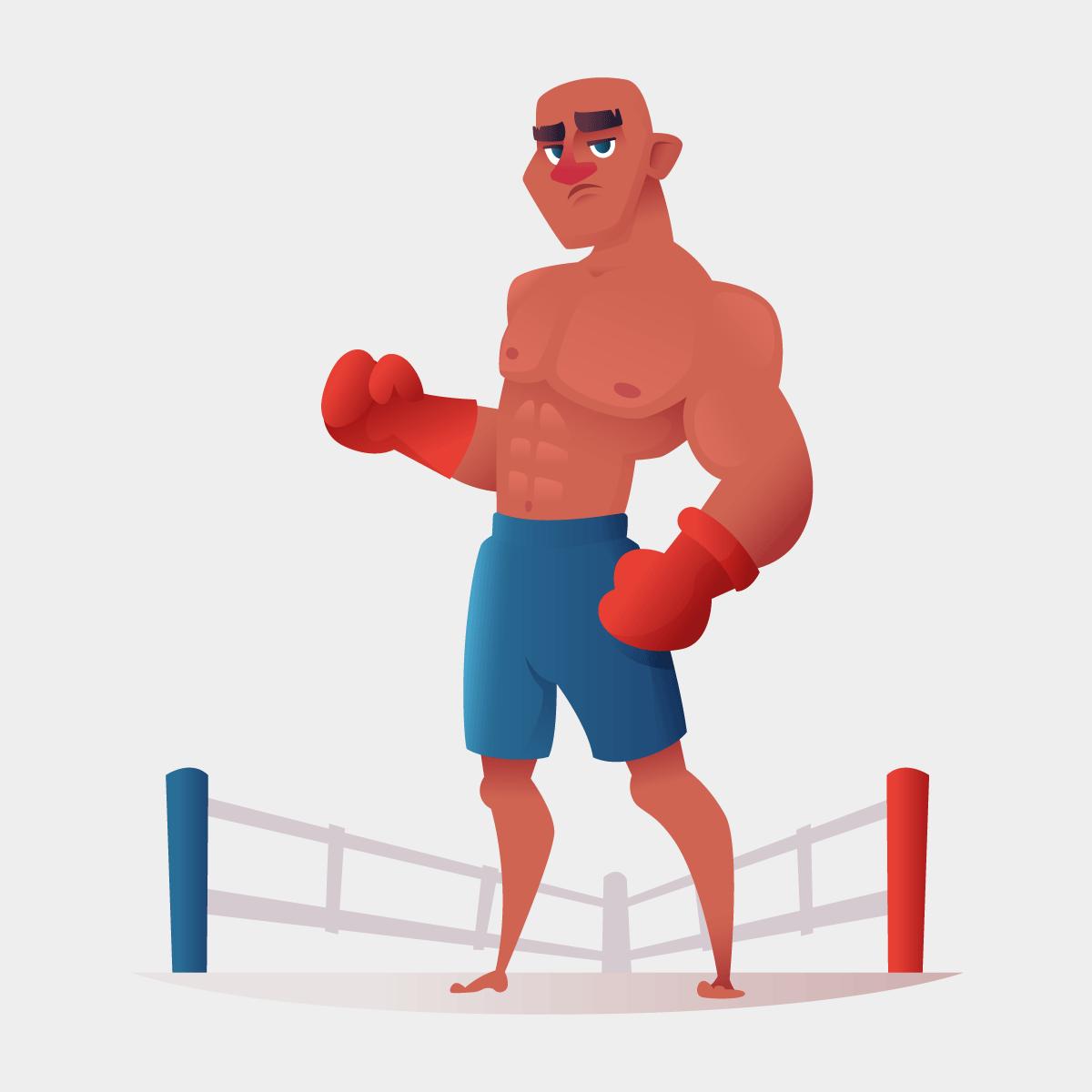 Анекдот про советского мужика, сразившегося самериканским боксёром