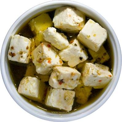 Домашний маринованный  сыр «Фета»