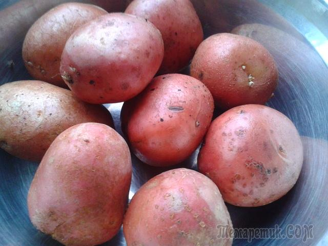 Мои секреты вкусной жареной картошки.