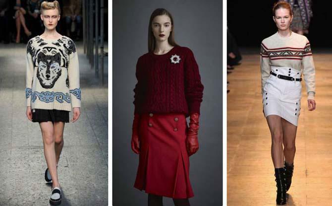 Свитер снова в моде: 5 самых интересных трендов и 17 примеров