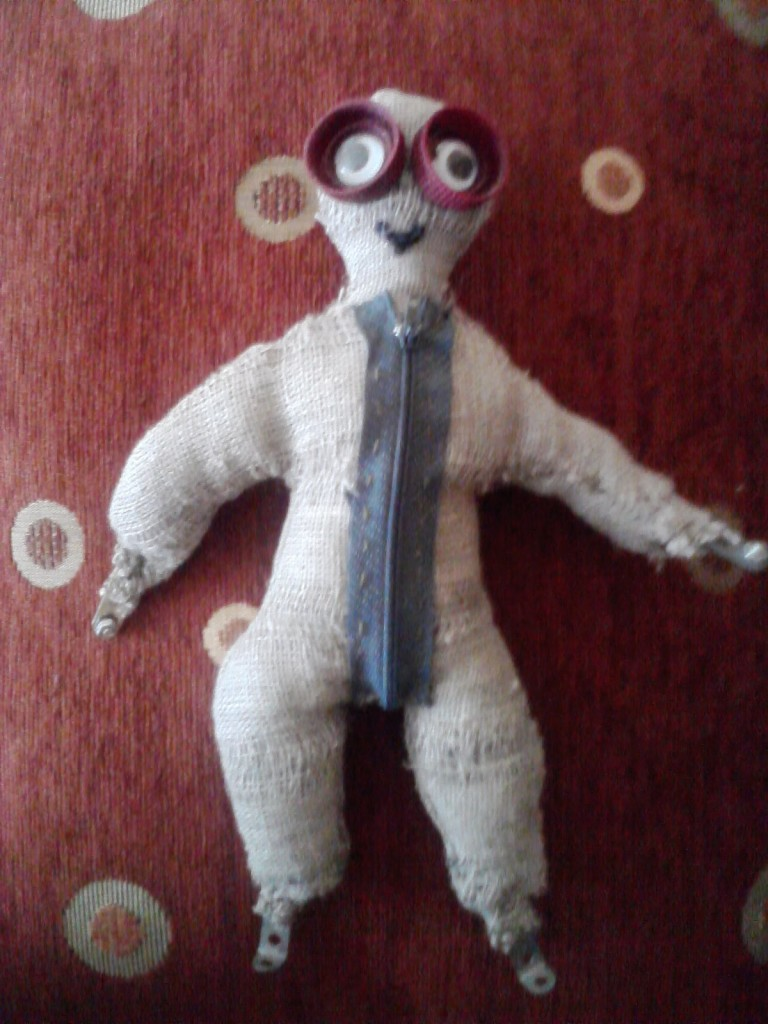 О кукле из мультиков как сделать