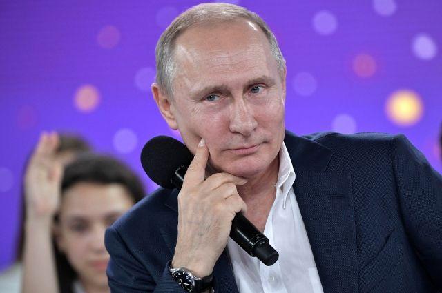 Путин рассказал о своей учебе в школе