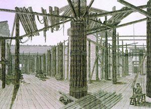 Утраченные строительные технологии Петербурга