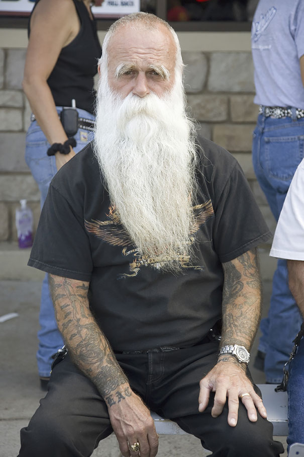 татуировки в старости