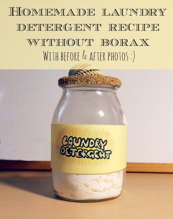 Простой рецепт стирального порошка от So Crafty On Squidoo
