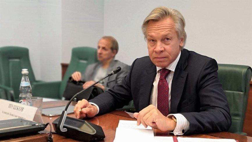 Пушков прокомментировал намерение евродепутатов принять участие в выборах глав ДНР и ЛНР