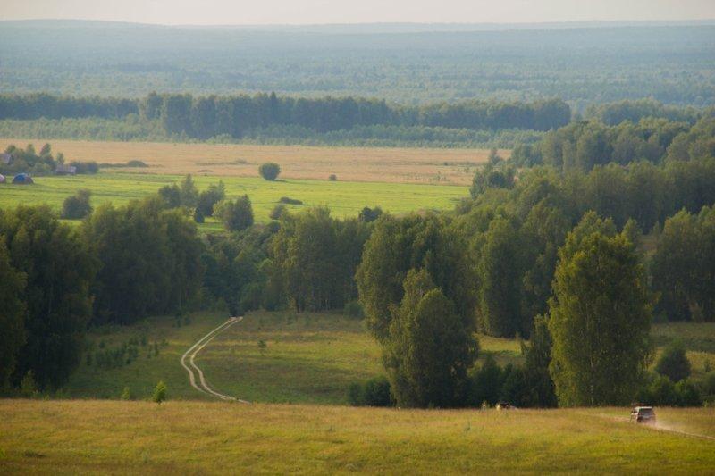 Родные просторы: несколько характерных русских пейзажей