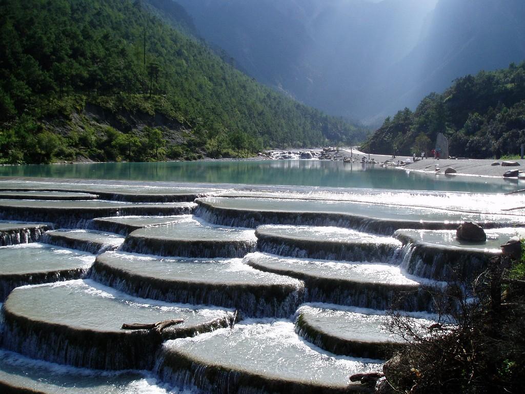 baishuitai01 Чудо китайской природы: Террасы белой воды