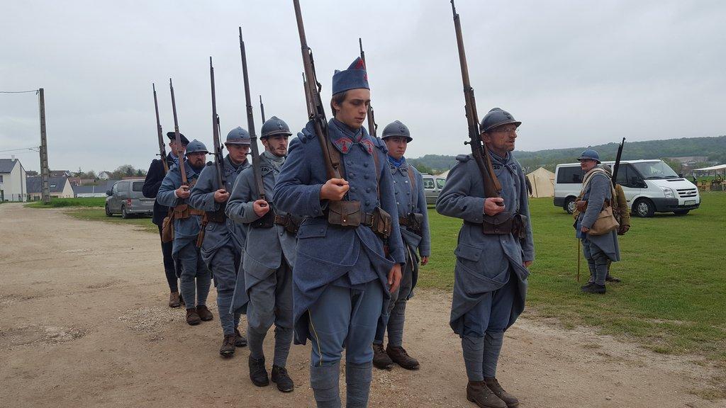 Французский город Курси почтил память русских солдат, погибших за свободу Франции