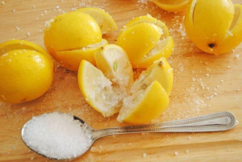 Зачем нужен в спальне лимон с солью?