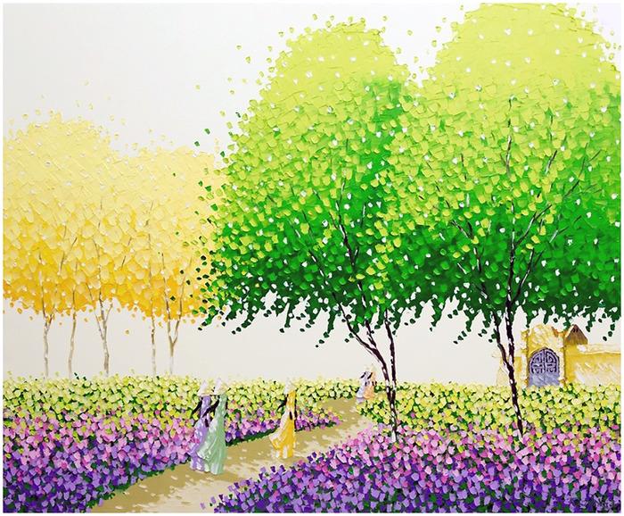 Вьетнамская художница Пан Ту Транг (Phan Thu Trang). Обсуждение на LiveInternet - Российский Сервис Онлайн-Дневников