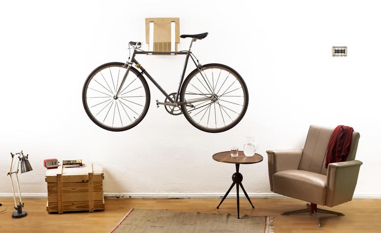 10 крутых идей для хранения велосипедов