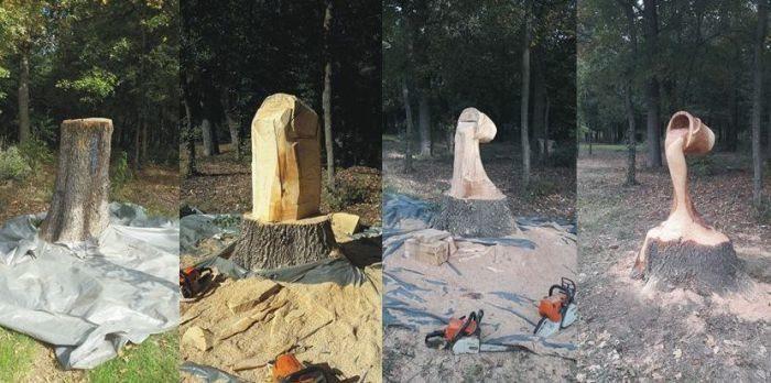 Крутые поделки из дерева