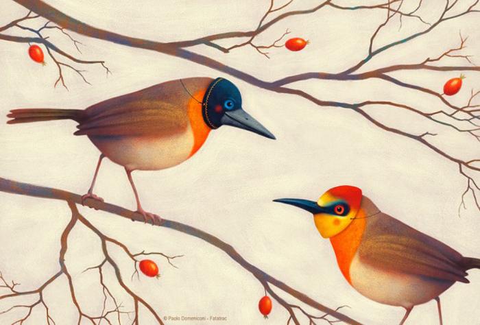 Осенние знакомства. Автор: Paolo Domeniconi.
