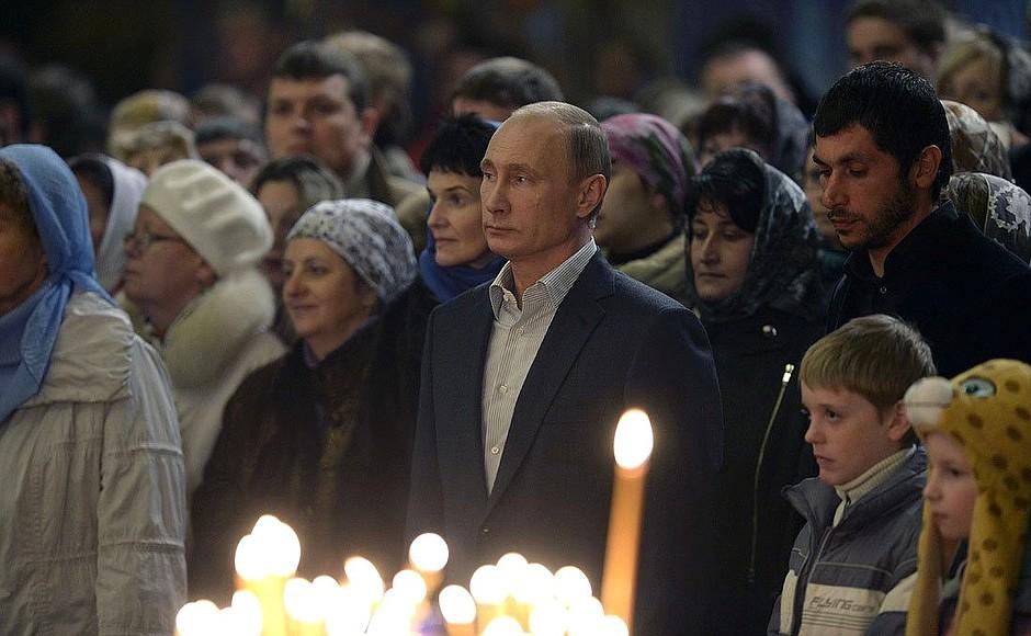 Путин расстроил: и Бог нам не поможет