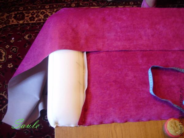 Общедоступный способ отделки кровати