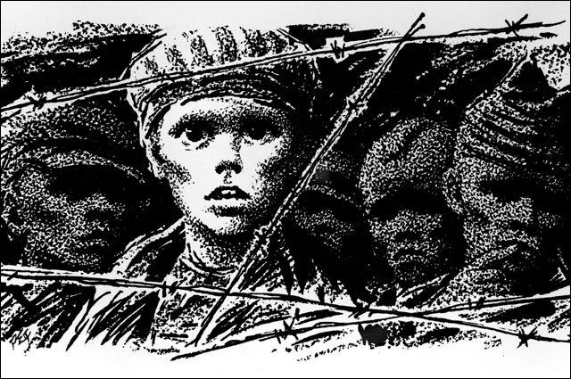 «Папа роет фашистам яму». Что писали ученики подпольной школы Бухенвальда