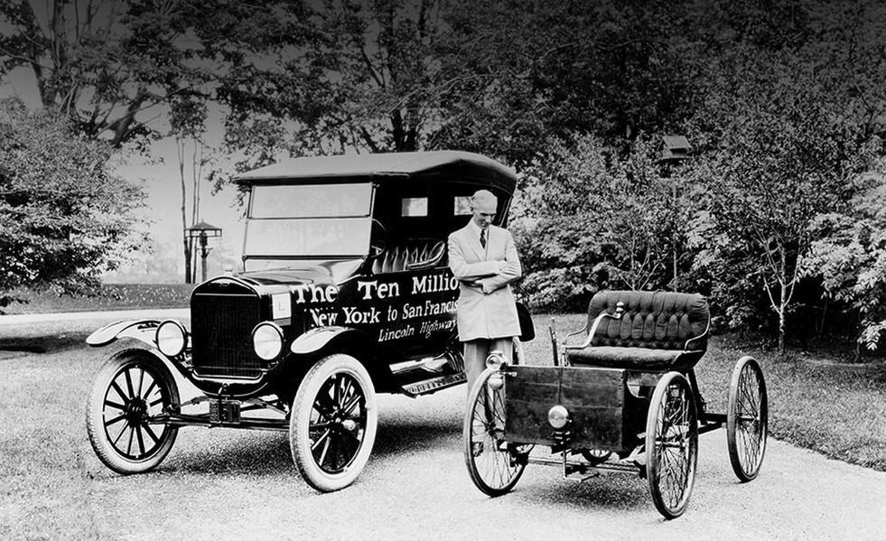 'henry ford and the motor car