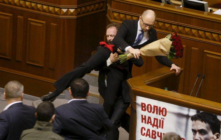 Битвы политиков
