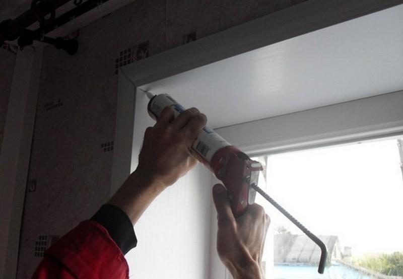 Как делать пластиковые откосы на окнах своими руками