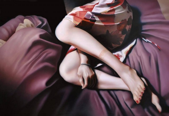 Японская художница Томона Мацукава