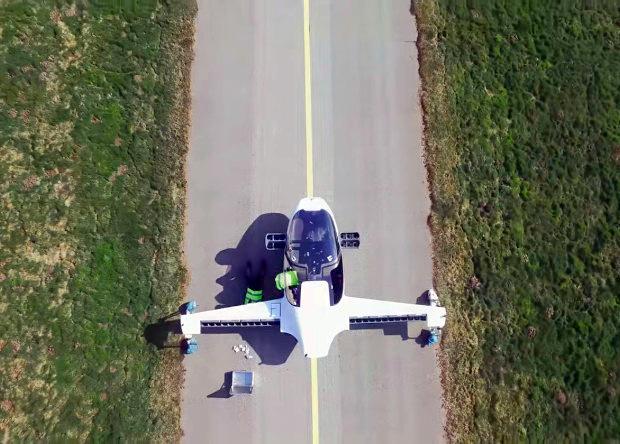 Немецкий электрический конвертоплан совершил первый полет