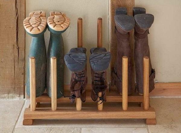 Обуви своими руками на даче