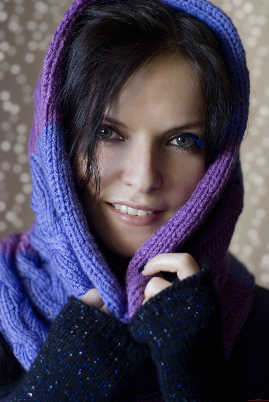 Как связать себе шарф спицами