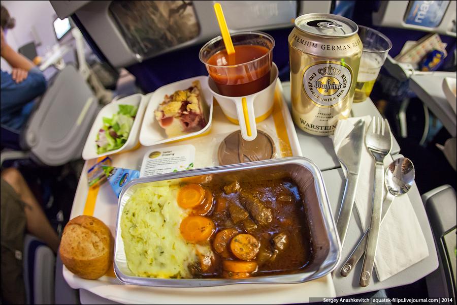 Еда в самолете. ДА или НЕТ?