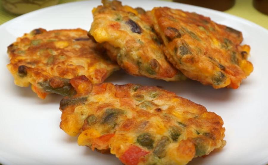 Легкие овощные оладьи-готовлю их вместо котлет