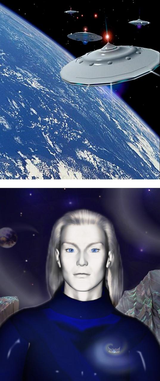 Сотни лет назад на нашу Землю из космоса прилетела высокоразвитая человекоподобная цивилизация