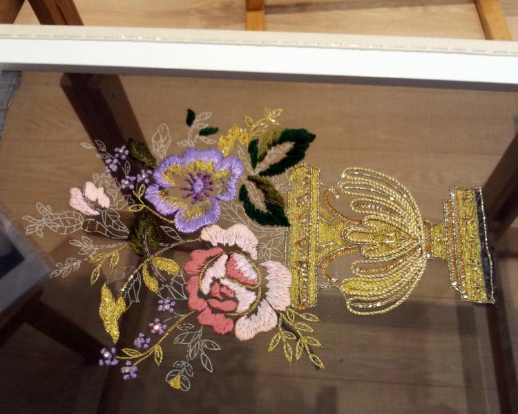 Люневильская вышивка Haute Couture (от кутюр)