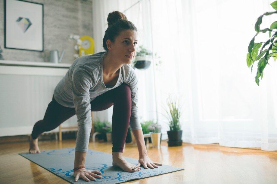 Регулярные домашние тренировки могут быть неменее эффективны, чем походы вспортзал