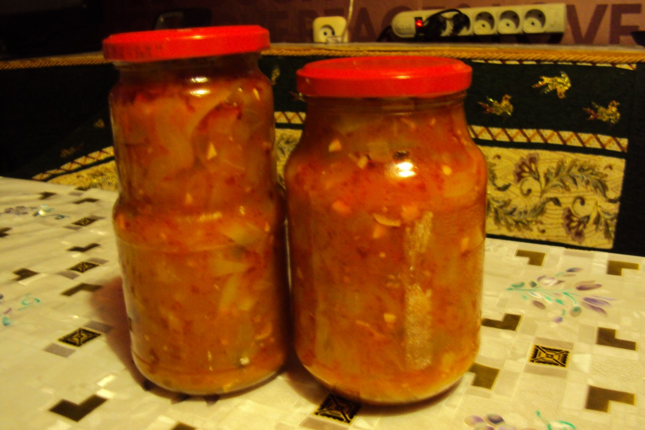 Консервирование кабачков с помидорами на зиму рецепты