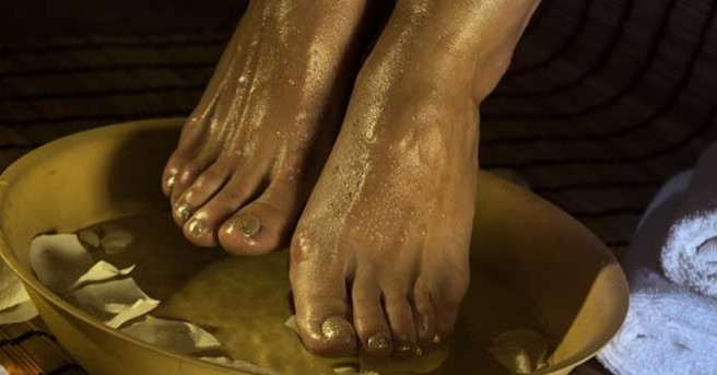 Замачивайте ноги в уксусе ра…