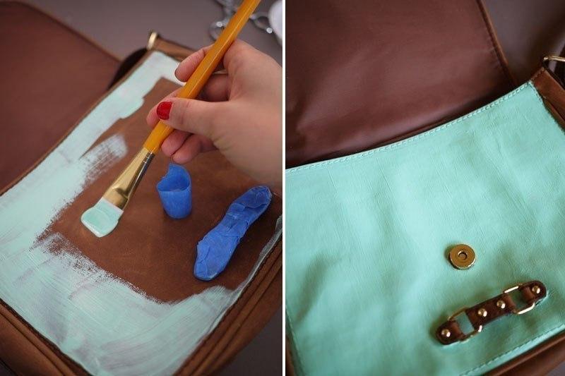 Как задекорировать старую сумку своими руками
