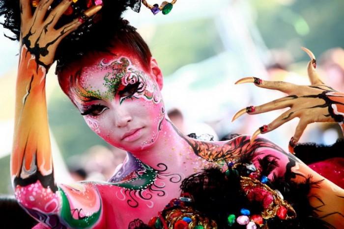 Фестиваль боди-арта в Австрии