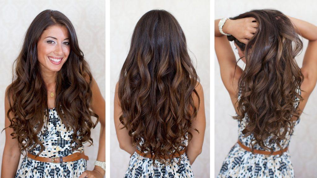Как правильно завить волосы …