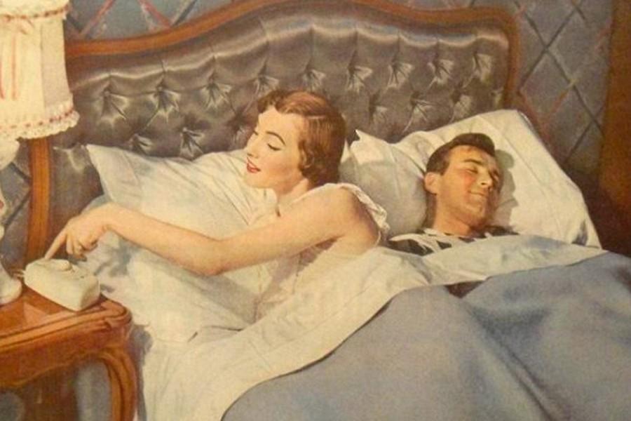 Когда нельзя спать с мужем в одной постели