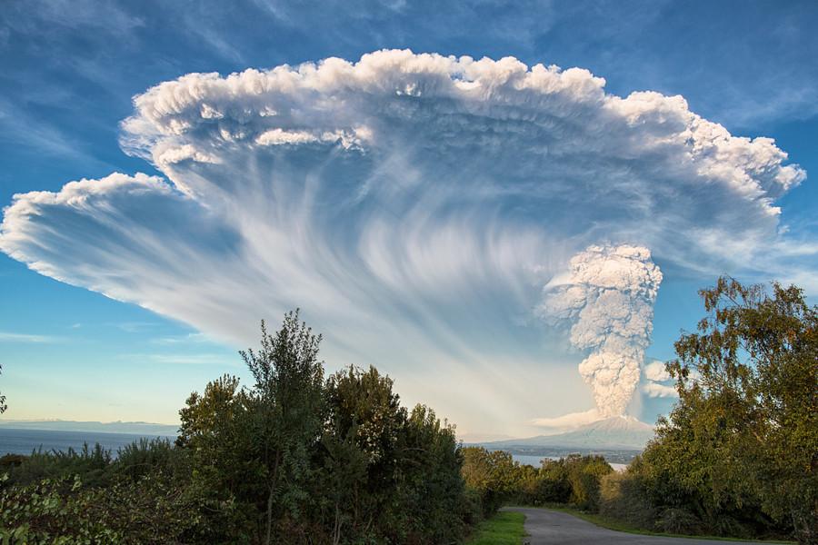 Вулкан Кальбуко вулкан, фото