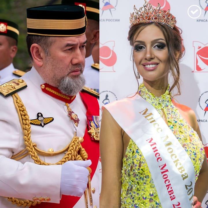 Королевская свадьба: победительница конкурса красоты «Мисс Москва-2015» стала женой малазийского монарха