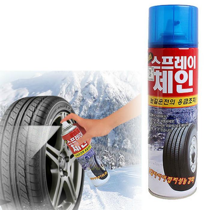 Спрей для шин, который улучшит их сцепление с дорогой и защитит резину от воздействия внешних факторов.