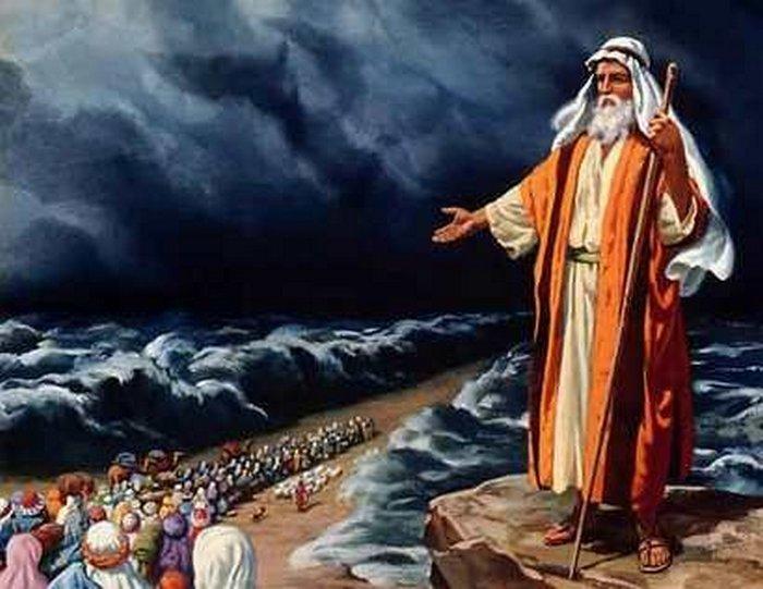 40 лет водил Моисей своей народ по пустыне.