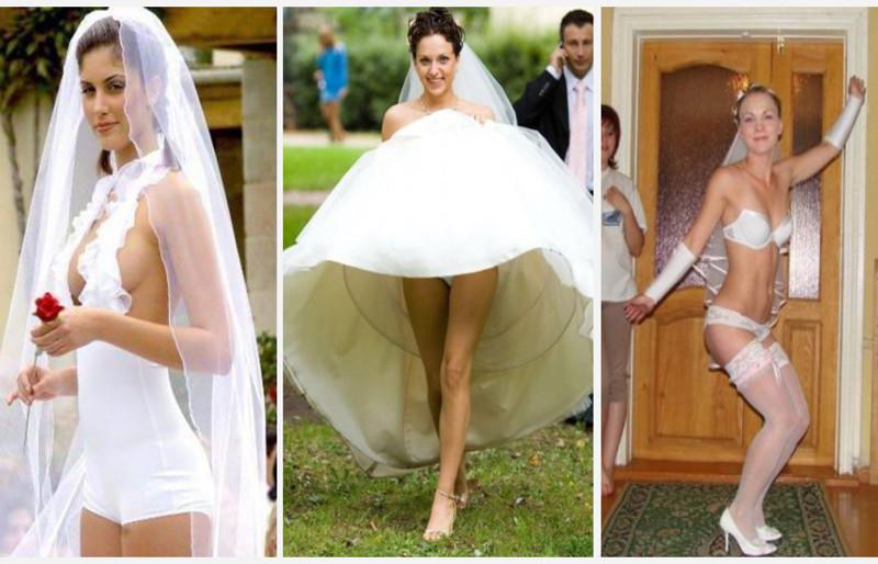 свадьба голая невеста