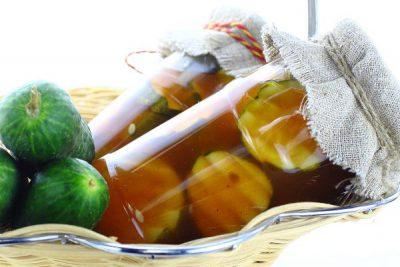 Огурцы с кетчупом «Чили» на зиму